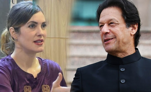 Imran khan physicial relation with american Blogger reveals Pakistani TV Host