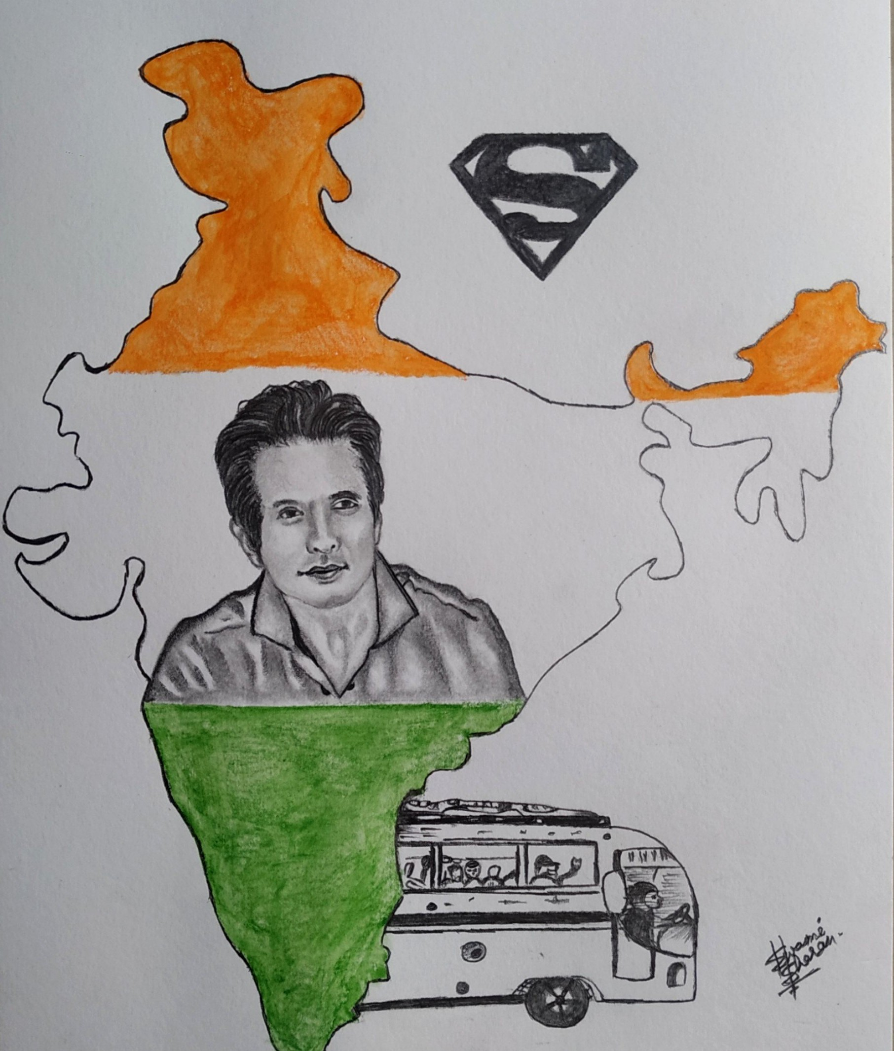 Sonu sood on India MAP